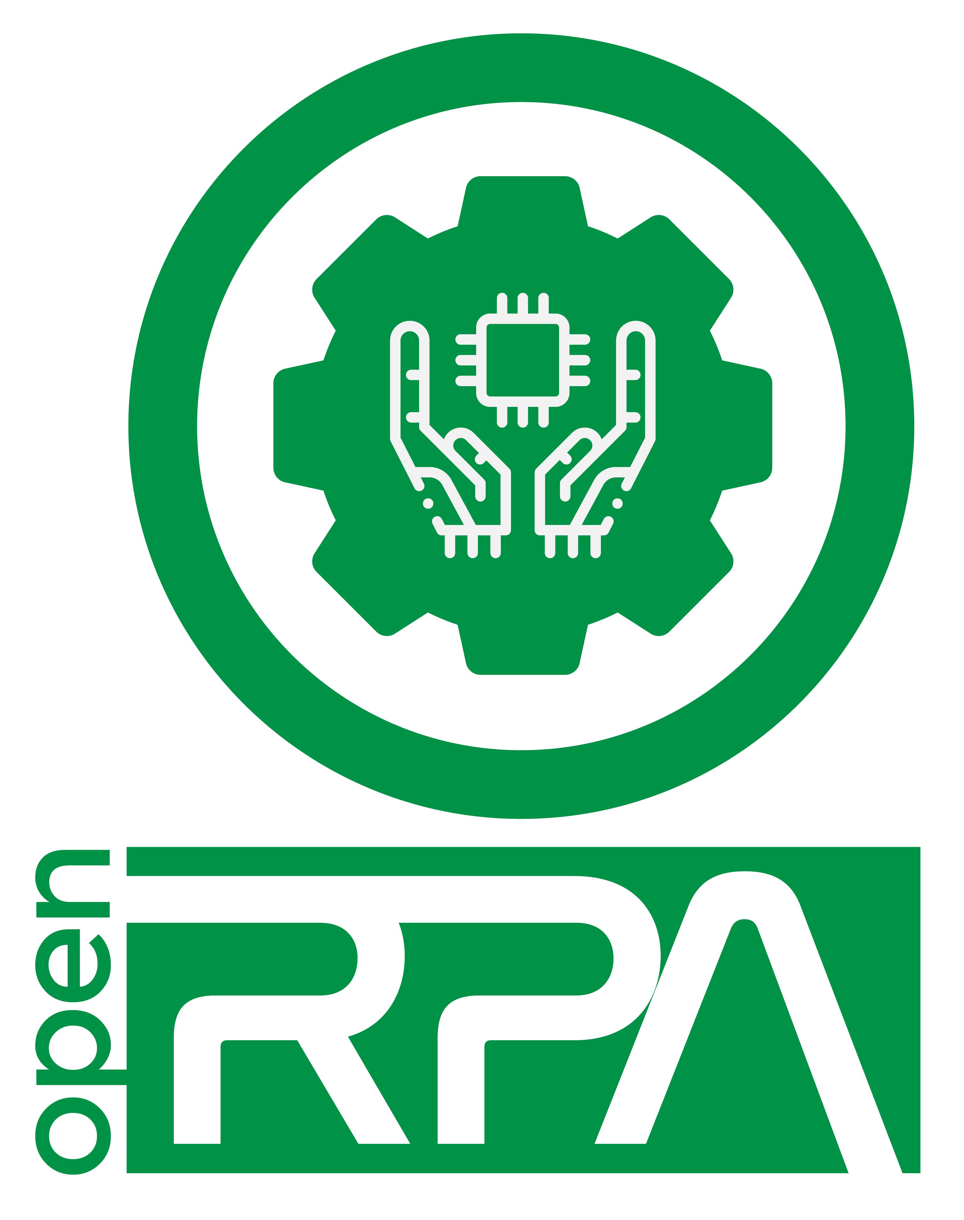 Logotipo Open RPA